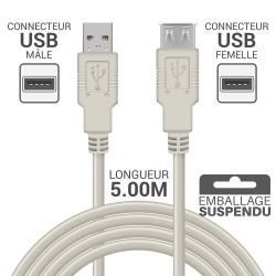 Rallonge USB 2.0 - 1.80m