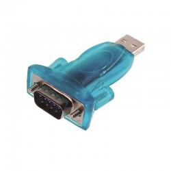 Adaptateur USB vers serie RS232 et DB9M