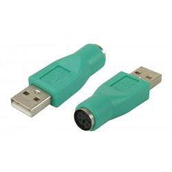 Adaptateur USB vers 1 port PS/2 pour souris