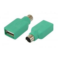 Adaptateur PS/2 vers USB femelle