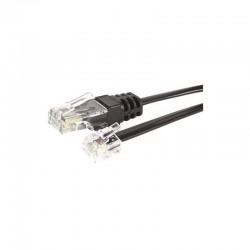 Cable telephone RJ11 4C / RJ45 8C M/M 5.00M